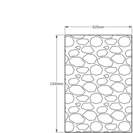 1200mm x 825mm gabion wall