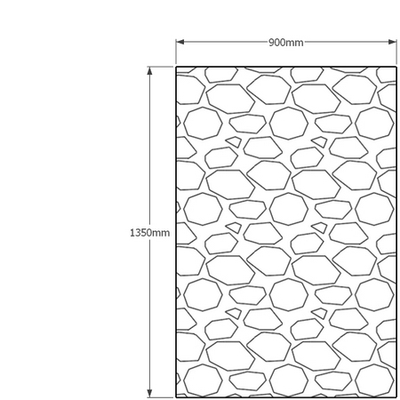 1350mm x 900mm gabion wall
