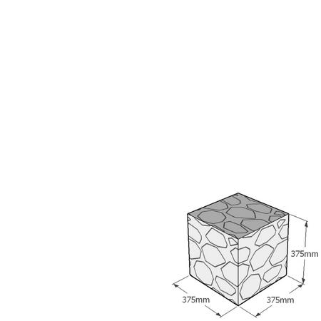 gabion cube 375mm