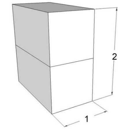 gabion wall 2 to 1