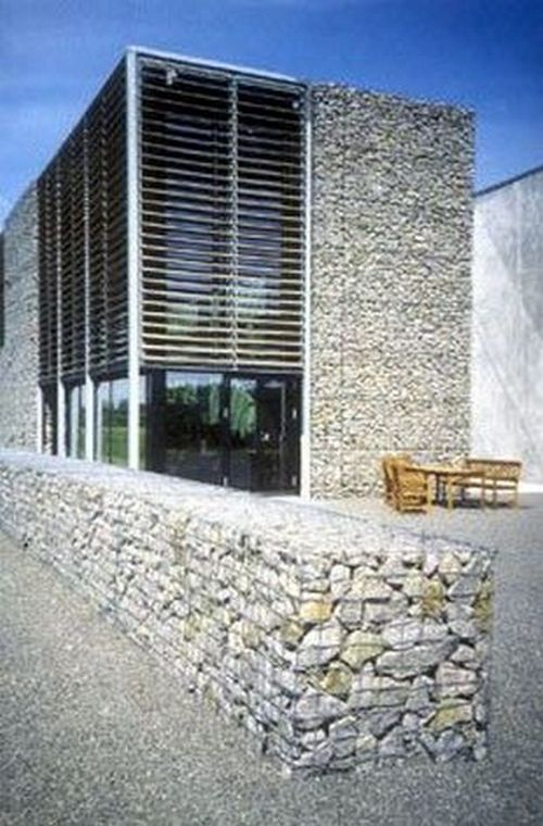 gabion partion wall