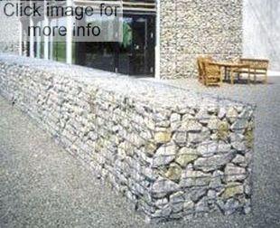 gabion separation wall